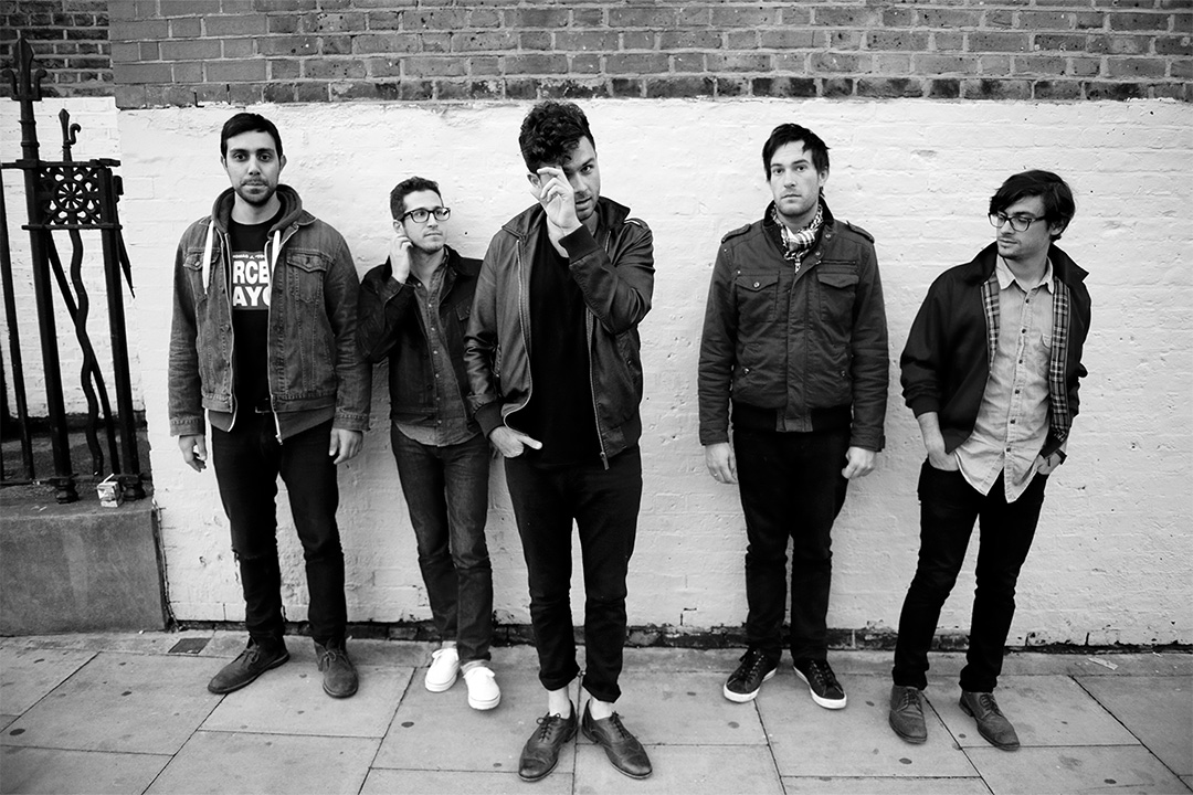 Arkells in Camden, London, 2012
